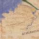 Seniausias išlikęs Palestinos žemėlapis