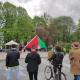 Palestinos palaikymo protestas Taline, Estija