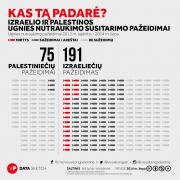 Ugnies nutraukimo susitarimo pažeidimai (Infografikas)
