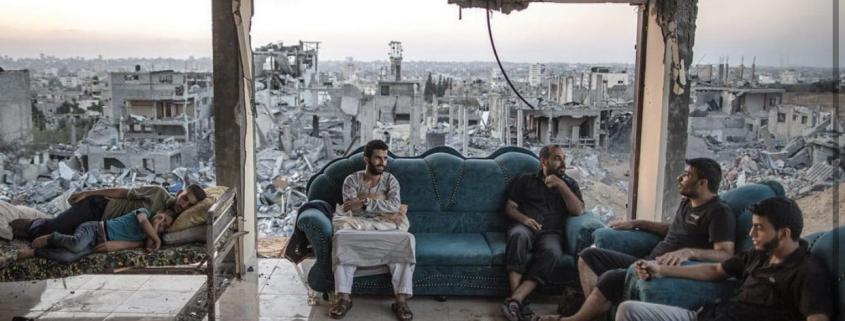 Subombarduota Gaza. 2021 gegužė
