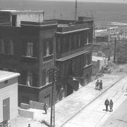 Raudonasis namas Tel Avive. Nuotrauka: 1935 m.