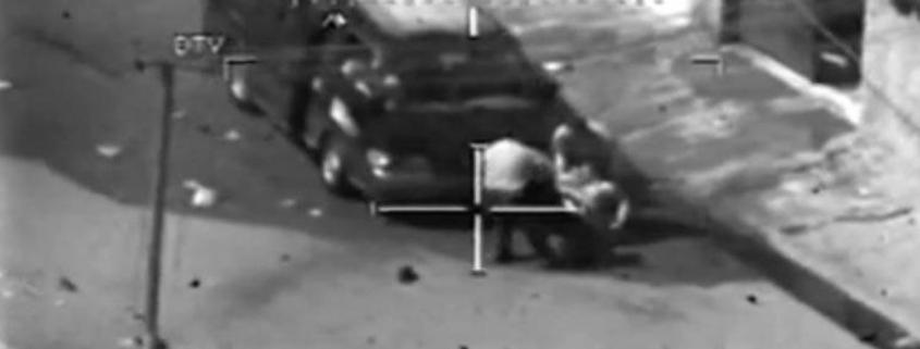 Foto: Kadras iš video Collateral Murder, Wikileaks atskleistų JAV vykdytų civilių žmogžudysčių Irake.